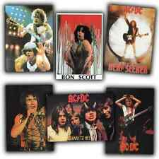 AC/DC Postkarten - Set - acdc postcards - Bon Scott - australian Rock N Roll -