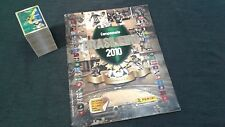 ALBUM PANINI SOCCER BRAZIL CHAMPIONSHIP 2010 + COMPLETE STICKERS SET