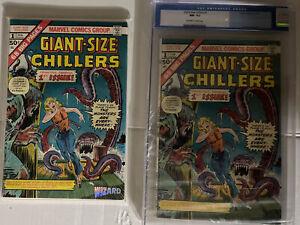 MARVEL COMICS GIANT SIZE CHILLERS #1 CGC 9.2 OW/WP, NM- HTF 1975 HORROR +BONUS!!
