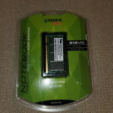 Kingston PC2700 (DDR-333) 512 MB DIMM 333 MHz PC-2700 DDR SDRAM Memory New