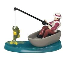 Fisherman Cake Topper Fishing with Trees, Fish Cake Decoration  Free Post