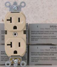 49 Leviton 20A Duplex Receptacles Br20-I
