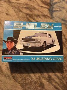 1966 Mustang Shelby GT-350 Kit 1/24 Monogram 1989 open