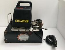 Simplex 7750012 Electric Hydraulic Pump Power Pack For Hydraulic Torque Wrench