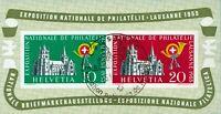 Svizzera - 1955 - LOSANNA - BF usato - Unificato n.15