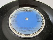 "THE WATER MARGIN - Pete Mac Junior / Godiego 1977 UK BBC RECORDS 7"" VINYL SINGLE"