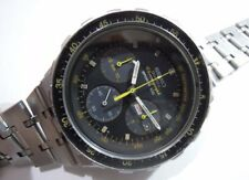 Vintage Seiko Chronograph Sports 100 7A38-705A Quartz Divers Men's Watch