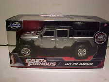 Fast and the Furious 2020 Jeep Gladiator Diecast Car 1:32 Jada Toys 5inch Silver