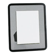 "1 Rubbermaid Black Mesh 3"" X 5"" Picture Photo Frame"