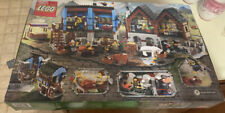 LEGO 10193 Castle Medieval Market Village - Opened, Complete in Box, see more.