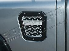 LAND ROVER DEFENDER XS AIR INTAKE GRILLE BLACK WITH SILVER MESH LEFT DA1972