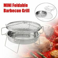 Folding Outdoor Mini Barbecue Charcoal Grill Stainless Steel Cooking Accessories