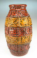 60er Bay Keramik Bodo Mans Vase Modell 60 20 space age wgp Fat Lava pottery