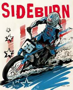 SIDEBURN issue 46 - independent motorcycle magazine