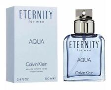 Eternity Aqua Calvin Klein Men 3.4 Oz 100 ML Eau De Toilette Spray Nib Sealed