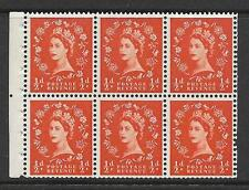 SB1 ½d Wilding perf type Ie middle UNMOUNTED MNT/MNH