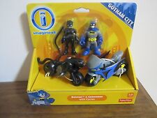 Fisher Price Imaginext NEW Batman Catwoman cycle Motorcycle Gotham City villain