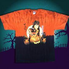 Halloween T Shirt  Scary Friday The 13th Freddy Krueger Horror Tie Dye S-XL