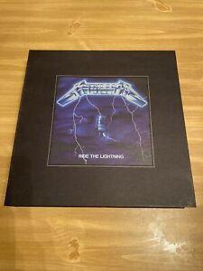 Metallica - Ride The Lightning Vinyl LP Deluxe Box Set Numbered NEW RARE