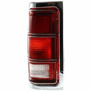 New CH2808104 Driver Side Tail Light for Dodge W150 1981-1987