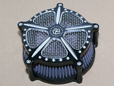 Speed 5 Air Cleaner Deep Edge Contrast Cut For Harley Touring FLHT FLHX 08-16