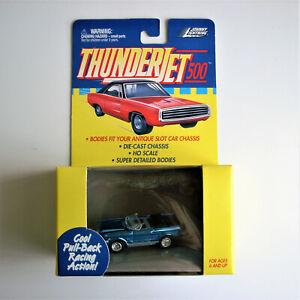 JOHNNY LIGHTNING, 1965 Ford Mustang Convertible, Thunderjet 500 HO Slot Car Body