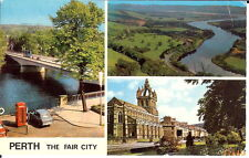 Scotland: Perth, The Fair City - Multiview - Posted 1979