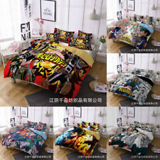 My Hero Academy Quilt Cover Bedding Set 3PCS Duvet Cover Pillowcase Fans Gifts