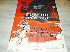 FUREUR A L'OUEST  ! affiche cinema western