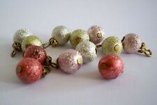 1:12 - Miniatur Weihnachtsbaum-Kugeln - Puppenhaus Miniatur  - Tannenbaum - NEU