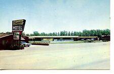 Sands Motel-Sign-Pool-Cars-Clovis-New Mexico-Vintage Advertising Postcard
