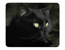 Black Cat Novelty Soft Rubber Neoprene Computer Mouse mat Mousepad Pad