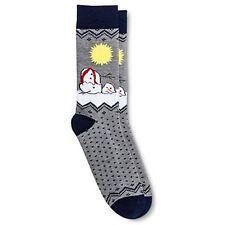Melting Snowman Mens Socks OMG So Ugly NEW sz 8-12 Christmas Holiday