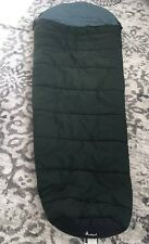 "SLUMBERJACK Sleeping Bag Rogue River Hollofil II Washable Dark Green 32"" x 82"""