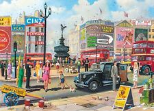 Gibsons - 1000 PIECE JIGSAW PUZZLE - Piccadilly London
