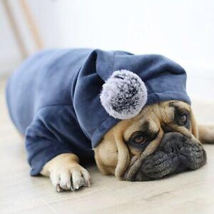 Winter Pet Dog Clothes Pug French Bulldog Clothing For Dogs Coat Fat Dog Jacket