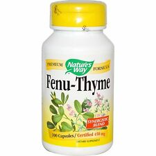 Nature's Way, Fenu-Thyme, 450 mg x  100 Capsules