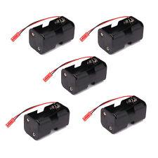 5pcs 02070 Battery Receiver Pack Case holder AA JST For RC 1:8 1:10 1:16 Car HSP
