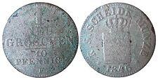 Saxe AKS 107 1 NOUVEAU FRANC 1846 F en S + 1502083