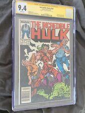 Incredible Hulk #330 CGC 9.4 SS Todd McFarlane Rare Signed White Pages Key Book