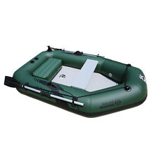 2M Inflatable Boat Inflatable Dinghy Boat Yacht Tender Fishing Raft 2 persons
