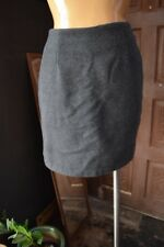 ESPRIT Womens Gray Wool Blend Mini Skirt Size 7/8