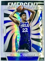 2019-20 Panini Matisse Thybulle Silver Prizm Emergent Rookie Card Rc 76ers🔥📈