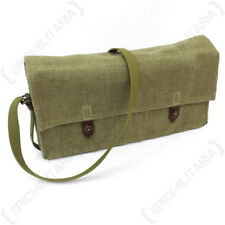 WW2 Russian Anti Tank Rifle Cartridge Bag - Button - Repro Army Satchel Pack New