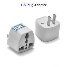US Power Adapter AU UK EU To USA AC Travel Electrical Plug Adapter Power Charger