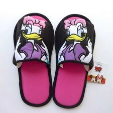 NEW CUTE SOFT PLUSH SLIPPERS SHOES ADULT MICKEY MOUSE DAISY DUCK DISNEY US 6-10