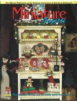 Miniature Gazette Magazine Nov/Dec 2012 for Miniaturists, Artisans & MiniMakers