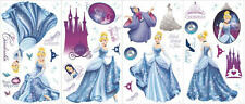 CINDERELLA GLAMOUR wall stickers  decals CARRIAGE SPARKLES SLIPPER scrapbook