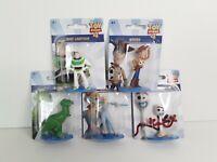 "Disney Pixar Toy Story 4 Lot of 5 Figures 3"" Buzz Woody Rex Bo Peep Forky  2C"