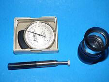 Tonomat Posner Inglima Tonmeter & Geneva Lens Measure Dial Indicator Instrument